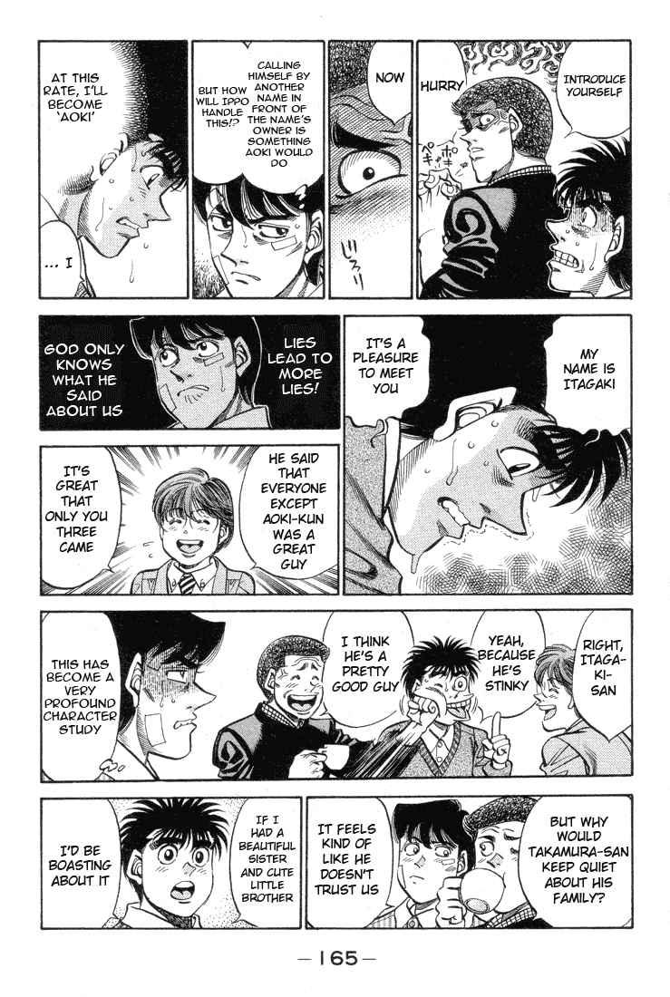 Hajime no Ippo - Chapter 370